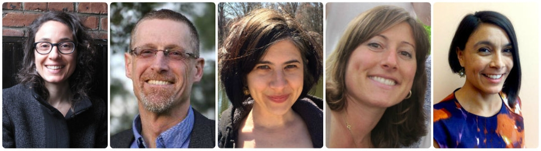 Headshots of new sociology faculty members